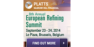Platts 8th European Refining Summit – Brussels – 23 & 24 September, 2014