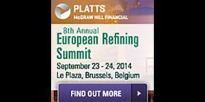 Platts 8th European Refining Summit – Brussels – 23 & 24 September, 2014