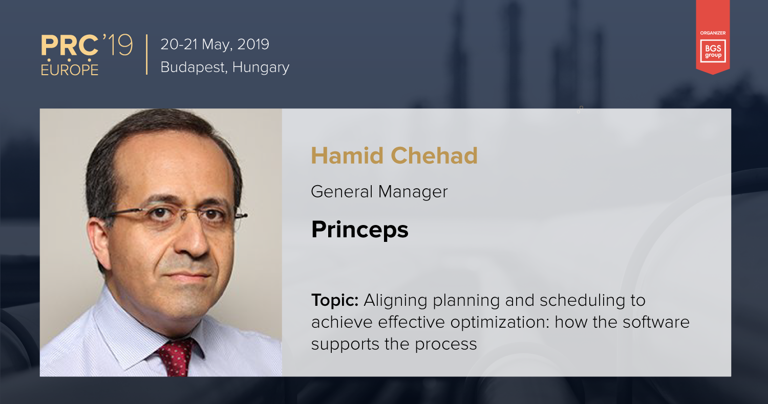 Princeps will be present at the Petrochemical and Refining Congress 2019 in Budapest